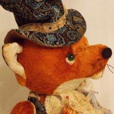 Хитрый лис, выкройка игрушки от Макаровой Виктории