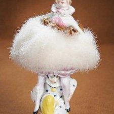 Half doll или фарфоровые куклы-половинки - пудреницы