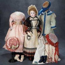 Куклы викторианской эпохи и их наряды