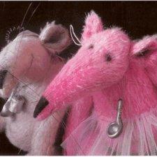 Крыски, автор выкройки игрушки Алена Жиренкина