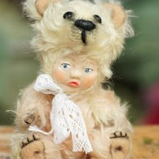 Выкройка игрушки, Тедди Долл