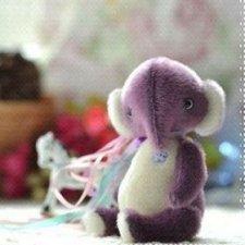 Слоненок. Выкройка игрушки Олеся Геркель