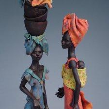 Керамика Annie Peaker. Африканская серия
