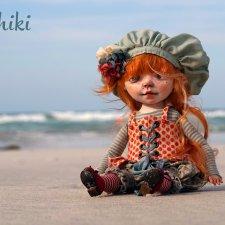 Авторская куколка Эмма, Kardenchiki art dolls
