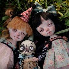 Куклы Kardenchiki art dolls, фото авторов