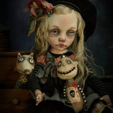 Баффи и её друзья от Kardenchiki art dolls