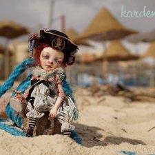 Приключение пиратки Туси в Тунисе - фотосессия от Kardenchiki art dolls