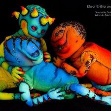Elara, Eithia & Iskadar скульптора Jade Warner, автор прототипов Jodie Lombardo