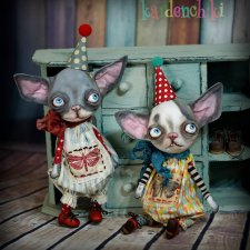 Kardenchiki art dolls, новые работы