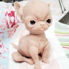 Малыш чихуа-хуа от скультора Cindy Musgrove
