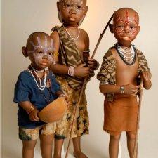 Коллекционные этнические куклы Bets & Amy Van Boxel, коллекция 2017