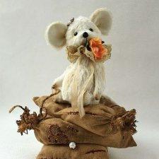 Выкройка игрушки Мышки Принцессы на горошине, автор Наталья Гортункова