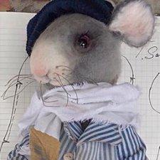 Крыс от Татьяны Садовской, с выкройкой