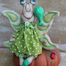 Бабочка, выкройка авторской игрушки  Светланы Макеевой