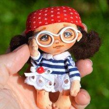 Текстильные мини куколки от Натальи Тереховой с выкройкой