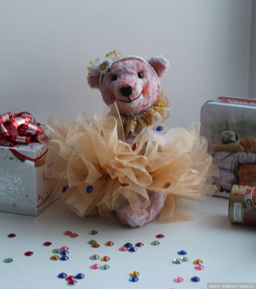 Как сделать мишку для кукол фото 566