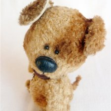 Собачка Тедди, выкройка. Автор Ирина Жерновникова