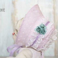 Весенняя шляпка для кукол и авторских игрушек от Ксении Мороз