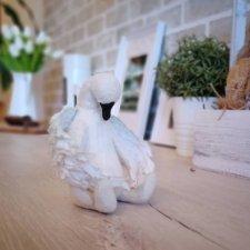 Лебедь. Выкройка игрушки от Татьяны Пименовой