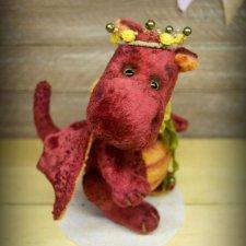 Выкройка дракона-тедди в подарок от Натальи Волошиной