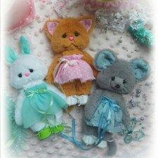 Выкройка игрушки в подарок от Виктории Гневушевой