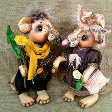 Крысята, авторская выкройка игрушки Ефимовой Веры