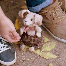 Кролик Тедди, авторская выкройка Наталии Климовой