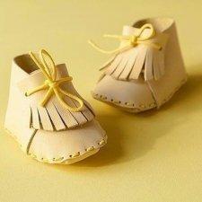 Выкройка ботиночек для авторской игрушки