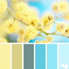 Весенние сочетания цветов
