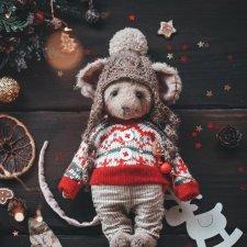 Мышонок, автор выкройки Наталья Добудько
