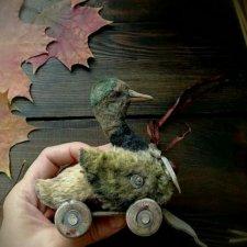 Выкройка игрушки - Селезень от Татьяны Савёловой