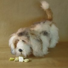 Тедди-пес Флаффи, автор выкройки Margarete Nedballa