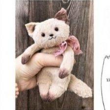 Котик-примитив с выкройкой