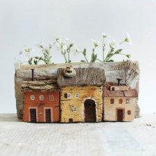 Деревянные домики от Lena Tom