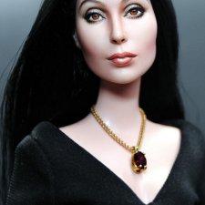 Портретный OOAK куклы Mattel Cher doll, автор Noel Cruz
