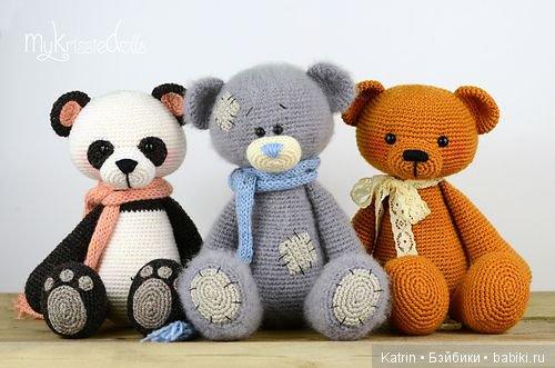 Схема вязания игрушки мишки фото 85