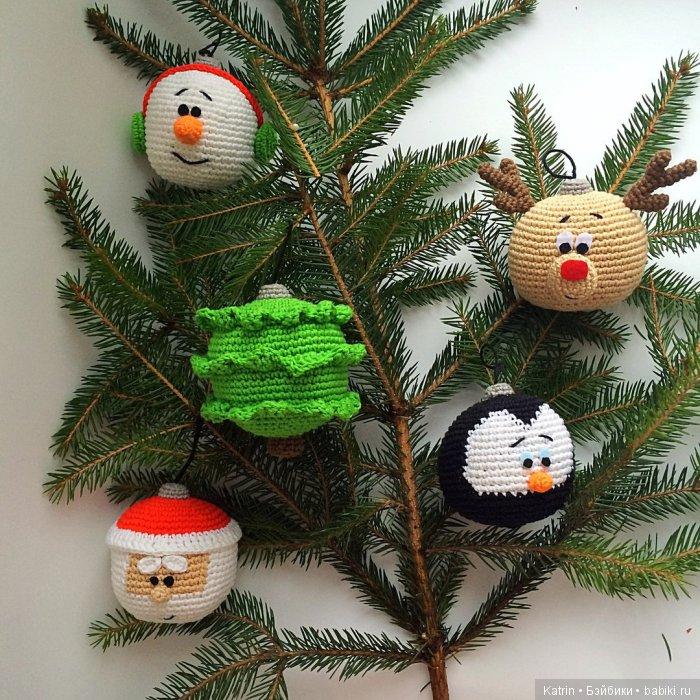 шарики на елку схема вязания игрушки схемы вязания игрушек