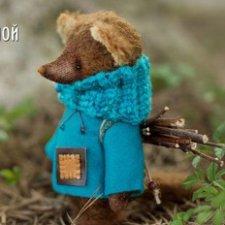 Мышка, выкройка игрушки Настены Никитиной