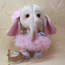 Слон, выкройка игрушки Липецкой Ирины