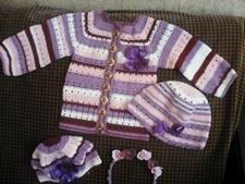 вязаную одежду
