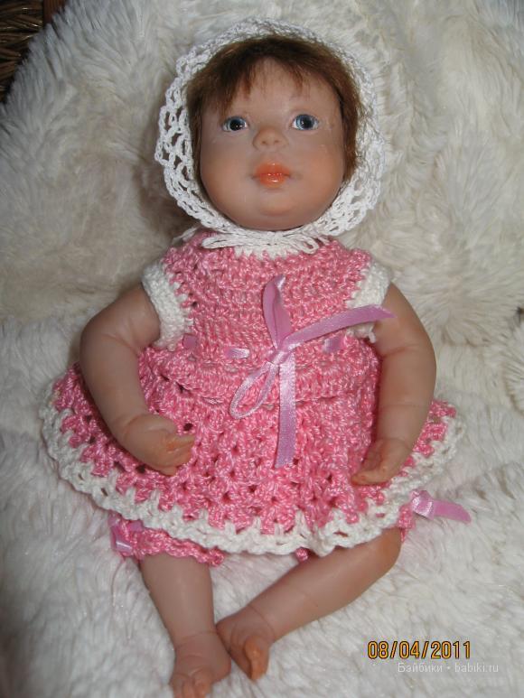 авторская кукла непослушная малышка
