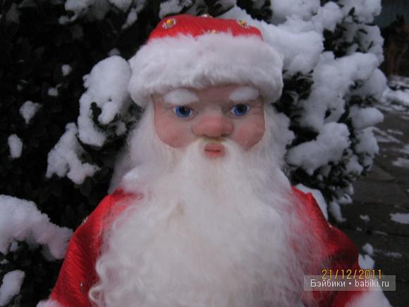 Астапенко Валентина, авторская кукла, Дед Мороз.