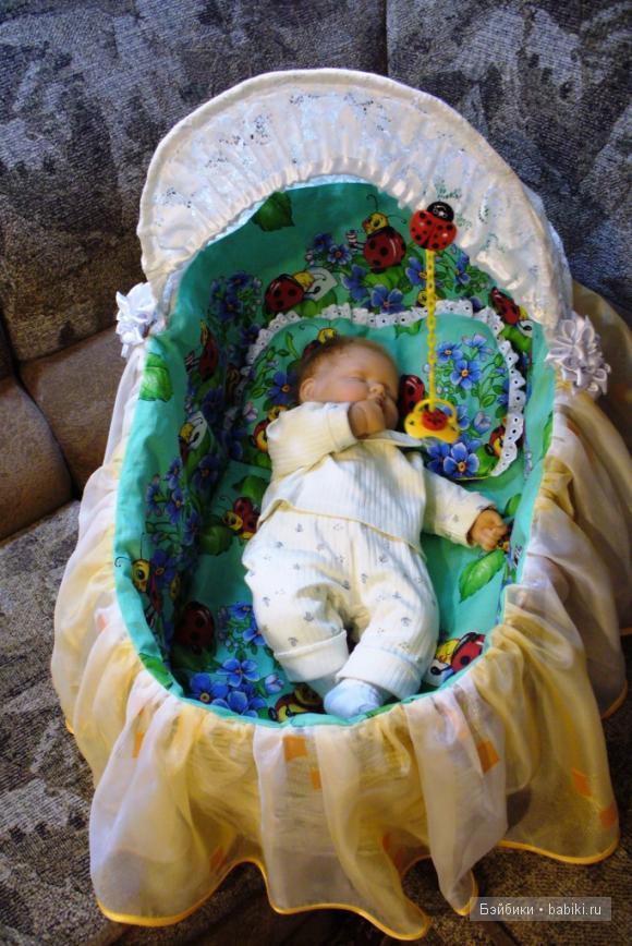 Картинки младенцев в люльках