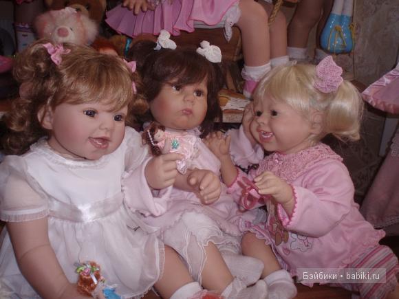 Коллекционные куклы Masterpiece малыши
