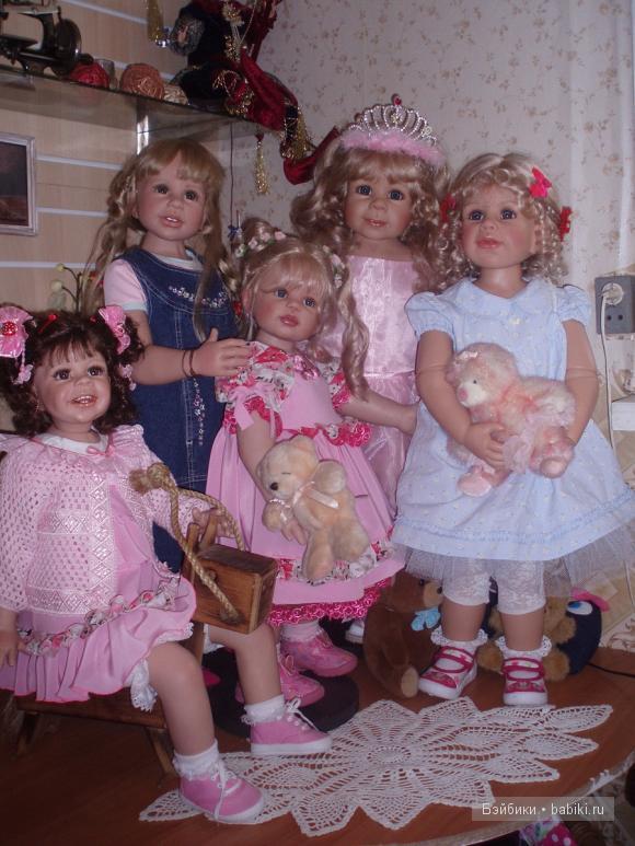 Коллекционные куклы Masterpiece девочки