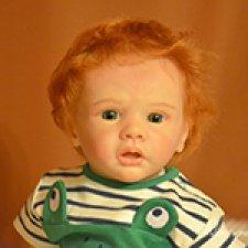 Славочка. Кукла-реборн Пшеницыной Юлии