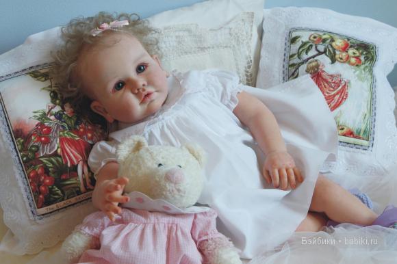 Янина. Яна, Яночка. Кукла реборн тоддлер Анны Арутюнян