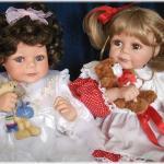 Два образа куклы от Филлис Паркинс Фиона и Юлиан