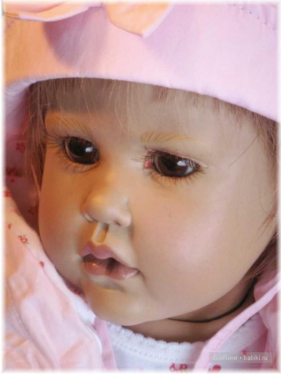 Девочка-загадка, кукла от Хильдегард Гюнцель