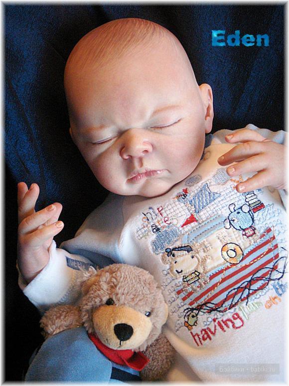 Кукла реборн от Adrie Stoete-Schuiteman  Эден, новые фотографии